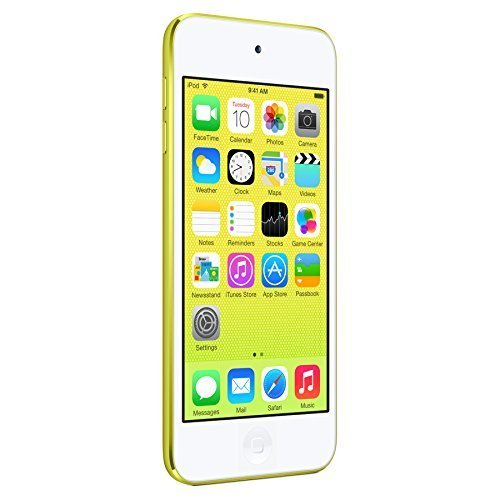 Apple iPod Touch 16GB (5th Generation) NEWEST MODEL - Yellow (Certified Refurbished) (Yellow Ipod Touch)