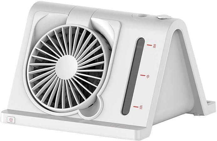 Mini Abanico portátil, Mano Ventilador eléctrico 3 en 1 ventilador ...