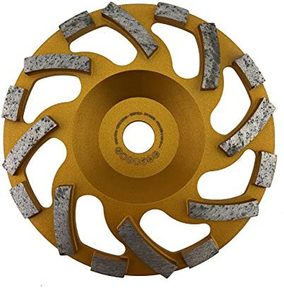 PRODIAMANT Profi Diamant-Schleiftopf Beton 148 mm x 19 mm Diamantschleiftopf PDX82.918 148mm Beton/Naturstein passend Hilti