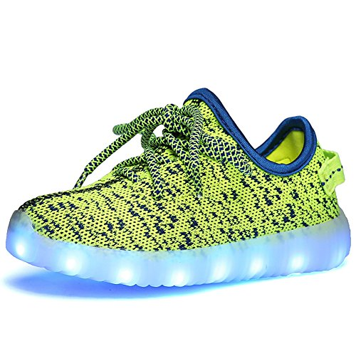 Genda-2Archer-Kids-7-Colors-Light-Up-Shoes-LED-Slip-On-Fashion-Sneakers