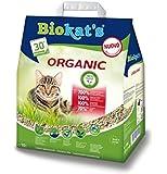 Lettiera Biokat's Organic 10 lt - Lettiera agglomerante per gatto, con fibre vegetali