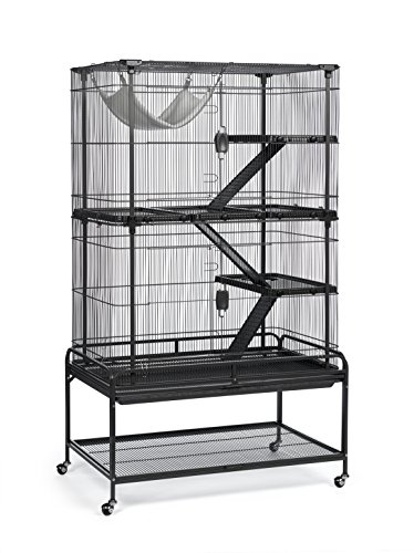 Prevue Pet Products 484 Deluxe Critter Cage, Dark Gray