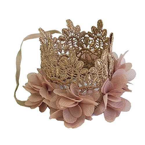 Kirei Sui Baby Flower Lace Crown Headband -