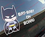 Star Wars baby Darth Vader on-board car sticker. Batman