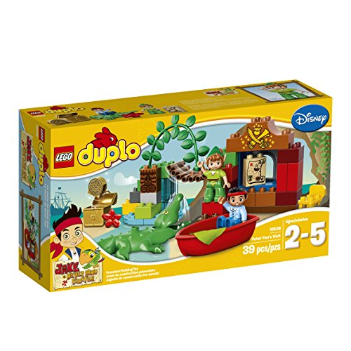 LEGO DUPLO Jake Peter Pan's Visit Building Set 10526 (Peter Pan Jake And The Neverland Pirates)