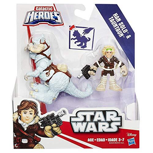 Galactic Heroes Han Solo & Tauntaun Star Wars Figures