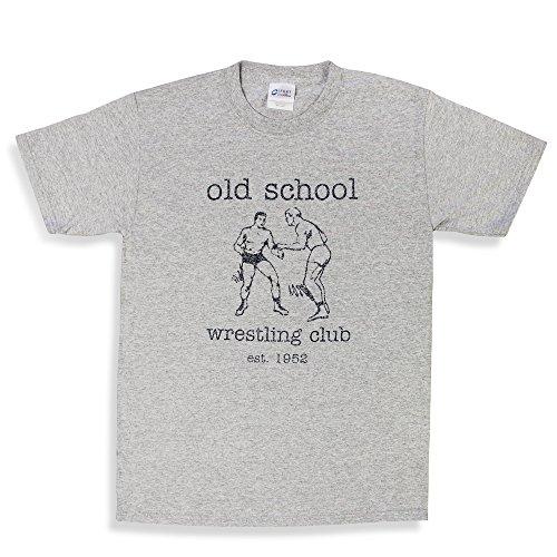 Old School Wrestling Club Cauliflower Brand Wrestling T-Shirt (Adult L)