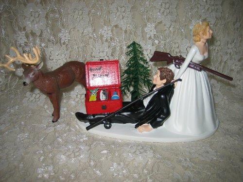 Amazoncom Humorous Redneck Wedding deer Hunter Hunting fishing