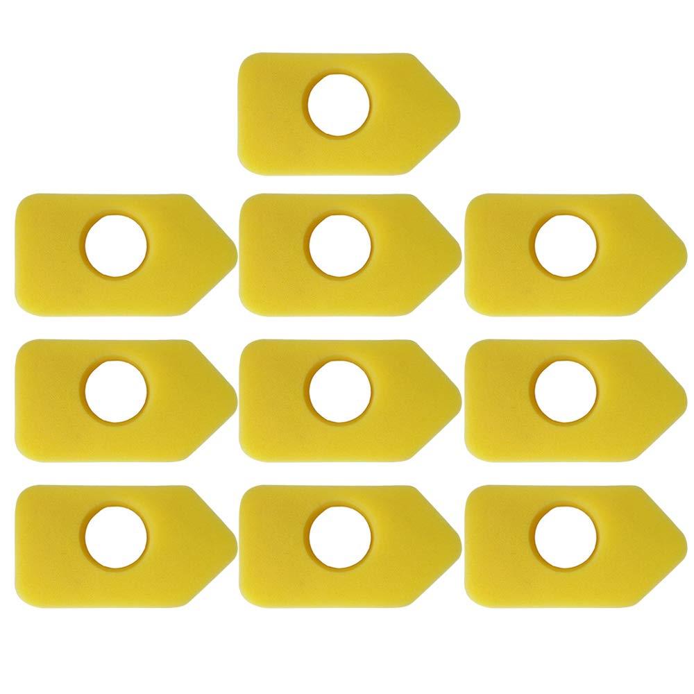 10PCS Accesorios de repuestos para filtros de aire de cortacésped ...
