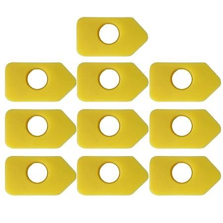 10PCS Accesorios de repuestos para filtros de aire de ...