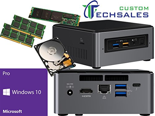 Intel NUC NUC7i7BNH Mini PC (Kaby Lake) i7-7567U 250GB M.2 SSD, 1TB Hard Drive 32GB RAM Windows 10 Pro Installed & Configured