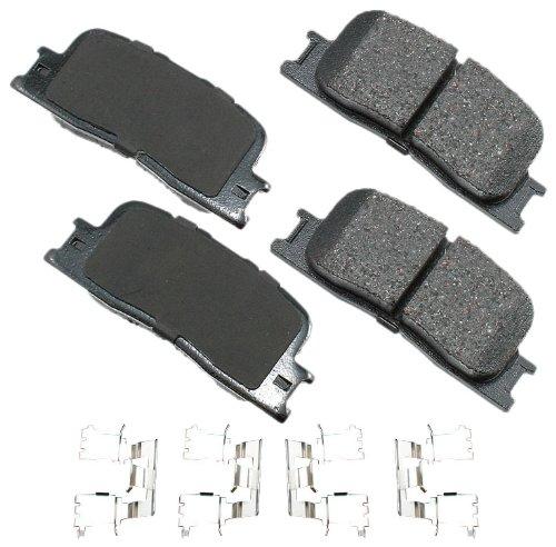 Akebono ACT885 ProACT Ultra-Premium Ceramic Brake Pad Set