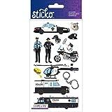 Sticko Classic agente de policía coches pegatinas
