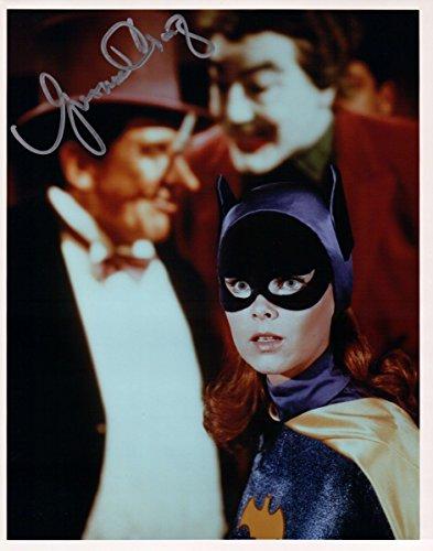Yvonne Craig Signed Autographed 8X10 Photo Batman Batgirl w/Villians w/JSA -
