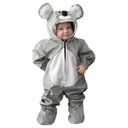 J42 Gr. 72-74 Disfraz de carnaval de koala para bebés, regalo de cumpleaños