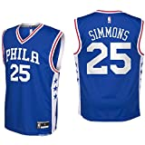 NBA Youth 8-20 All Star Team Color Players Replica Jersey (X-Large 18/20, Ben Simmons Road)