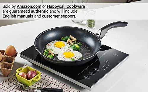 Happycall Titanium Nonstick Frying Pan, Grey, 13 Inch