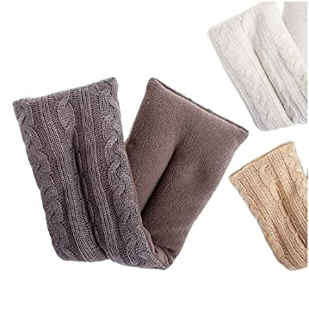 dcasa - Cojin cervical de semillas lavanda para microondas - Beige ...