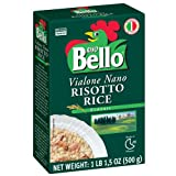 Riso Bello - Vialone Nano Risotto Rice, Gluten Free - 17.5 oz (Pack of 12)