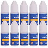 10 Pcs Professional 3g/Bottle Acrylic Nail Art Glue For French False Tips Rhinestones Manicure Tools