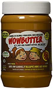 WOWBUTTER Creamy Peanut Butter Alternative, 500 G