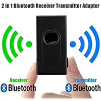 XuBa Bluetooth V4 Transmitter Receiver Wireless A2DP 3.5mm Stereo Audio Music Adapter