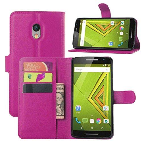 39624a20f1e Yaheeda Moto X Play Case,Droid Maxx 2 Case, Premium PU Leather Wallet Flip