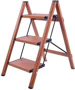 ZAQI - Escalera Resistente de 150 kg, 3 4 escalones de Aluminio Plegable para niños y Adultos: Amazon.es: Juguetes y juegos