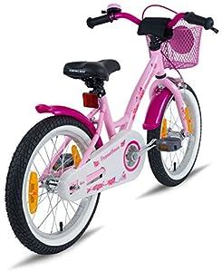 prometheus bicycles prometheus m dchenfahrrad 16 zoll in rosa lila wei mit st tzr der. Black Bedroom Furniture Sets. Home Design Ideas