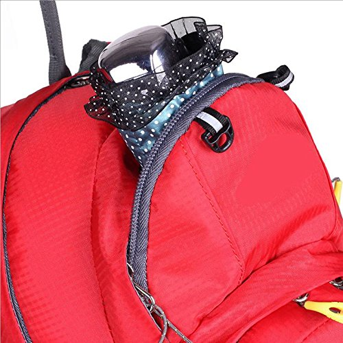 Xiuxiandianju L 15 al aire libre ciclismo mochila impermeables transpirable hombres y las mujeres calidad de mochila de senderismo mochila doble , red Red