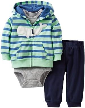 Carter's Baby Boys' 3 Piece Cardigan Set