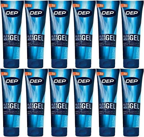 Dep Flex Hold Styling Gel, Travel Size, 2 Ounce (Pack of 12)