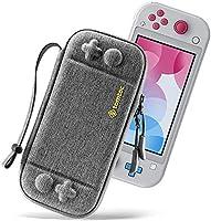 tomtoc Slim hoesje voor Nintendo Switch Lite, draagtas Carrying Case harde schaal voor Switch Lite console en 8...