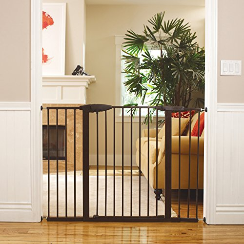 Munchkin Easy Close XL Metal Baby Gate Extension, Bronze, 11 inch by Munchkin (Image #2)