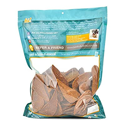 Gourmet Duck and Chicken Breast Dog Treats by Best Bully Sticks (3lb. Value Pack) All Natural Dog Treats