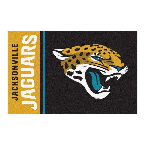 Fanmats Jacksonville Jaguars Football (FANMATS NFL Jacksonville Jaguars Nylon Face Starter Rug)