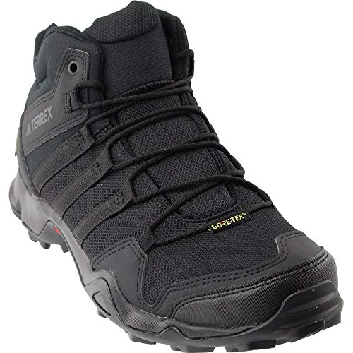 adidas outdoor Terrex AX2R Mid GTX Hiking Boot - Men's Black/Black/Black, 10.0