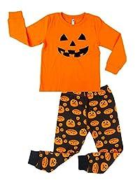 Kedera Boys Halloween Pajamas Kids PJS Toddler Sleepwear Halloween Clothes Shirts