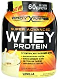 Body Fortress Whey Protein Powder, 31.2 Ounces (Vanilla, 2 Pack) by Body Fortress