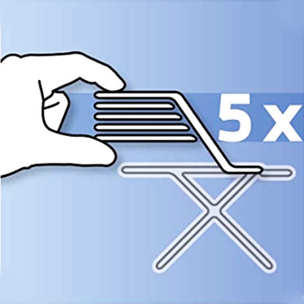 L//XL avec 4 Clips Housses pour Tables /à Repasser Convient /à Toutes Les Grandes et Tr/ès Grandes Planches /à Repasser 130x45cm MKMKM Housse Table /à Repasser avec Rembourrage Tr/ès /épais
