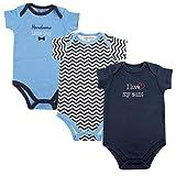 Luvable Friends Baby Sayings Bodysuit 3pk, Boy Aunt, 6-9 Months