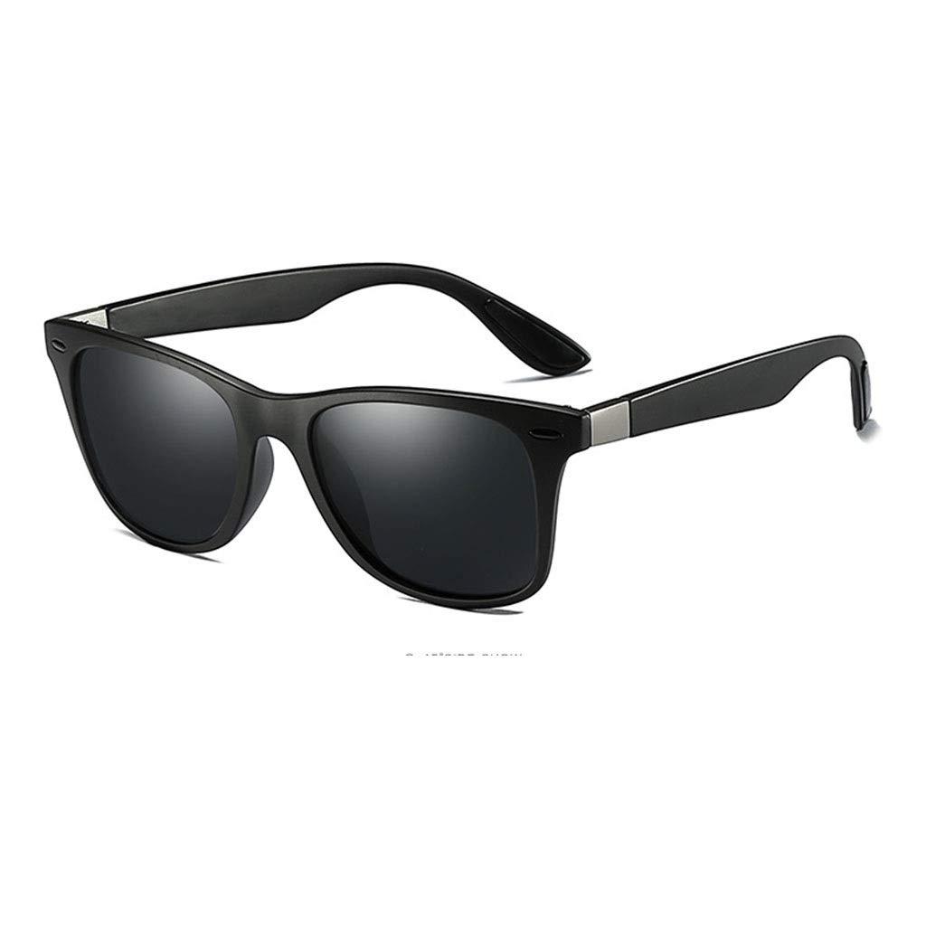 Black   Black Polarized Sunglasses for Men Coating Mirror Male Outdoor Sport Sun Glasses for Women UV400