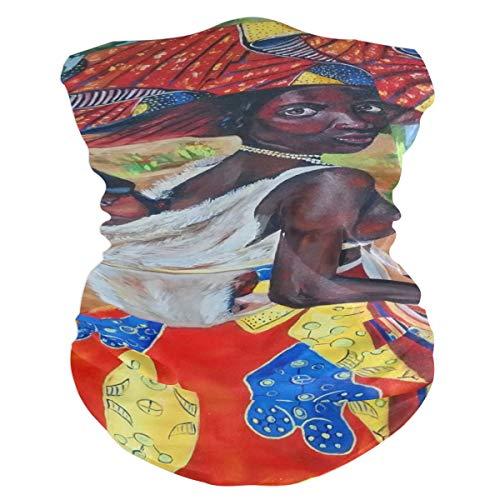 - NMCEO Headband Oil Portrait Art of African American Woman Headwear Sport Turban/Headkerchief/Sweatband for Unisex Outdoor Activities