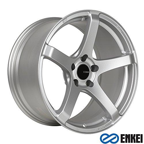 17x9 Enkei Kojin (Matte Silver) Wheels/Rims 5x114.3 (476-790-6535SP)