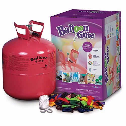 Disposable Jumbo Helium Tank, 50 Balloons included Great Quality from Unbranded