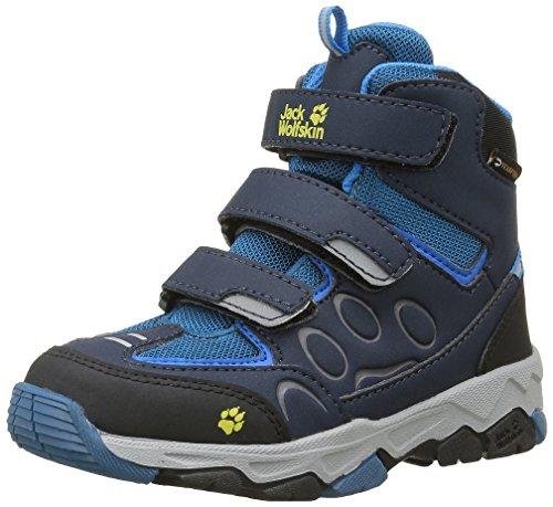 Jack Wolfskin Unisex-Kinder Mtn Attack 2 Texapore Mid VC K Trekking-& Wanderhalbschuhe, Blau (Glacier Blue 1121), 28 EU