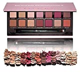 SMTSMT 14 Color Matte Eyeshadow Glitter Cream Eye Shadow Makeup Palette Shimmer Set (A)