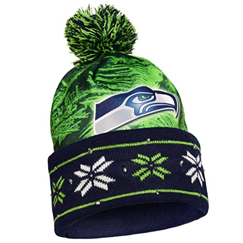 Seattle Seahawks Light Up Hat Football Theme Hats