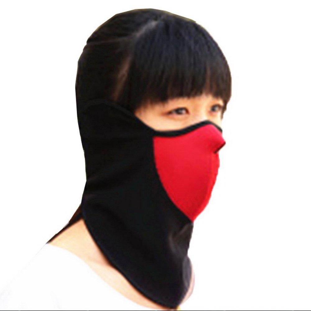Bigood Unisex Winter Warm Snowboard Windproof Neck Warmer Half Face Mask 7RKZ001C*1$aa