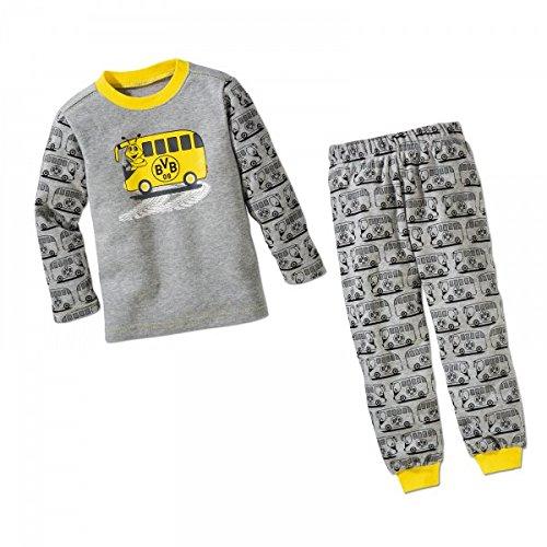 BVB Kinder Zweiteiler Emma am Steuer, grau/gelb/schwarz, 86/92, 2466596 17260900/8692